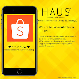 HAUS COSMETICS ON SHOPEE