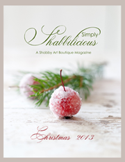 free christmas magazine by shabby art boutique