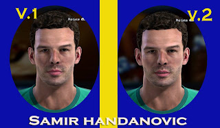 Samir Handanovic Face by Adit25