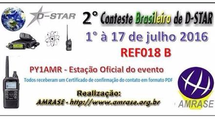 2º CONTESTE BRASILEIRO DE D-STAR