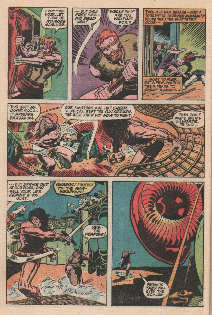 Conan the Barbarian (1970) Issue #2 #14 - English 18