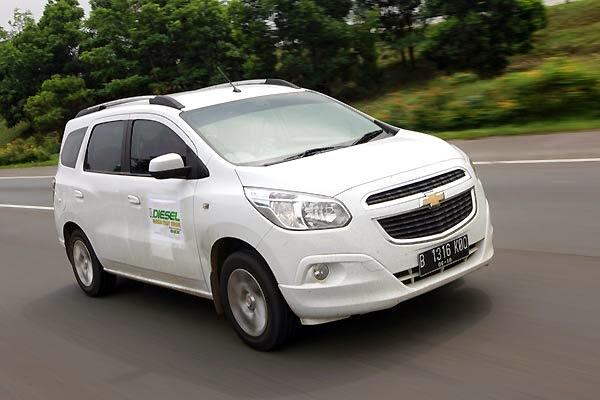 Chevrolet Spin Bekas