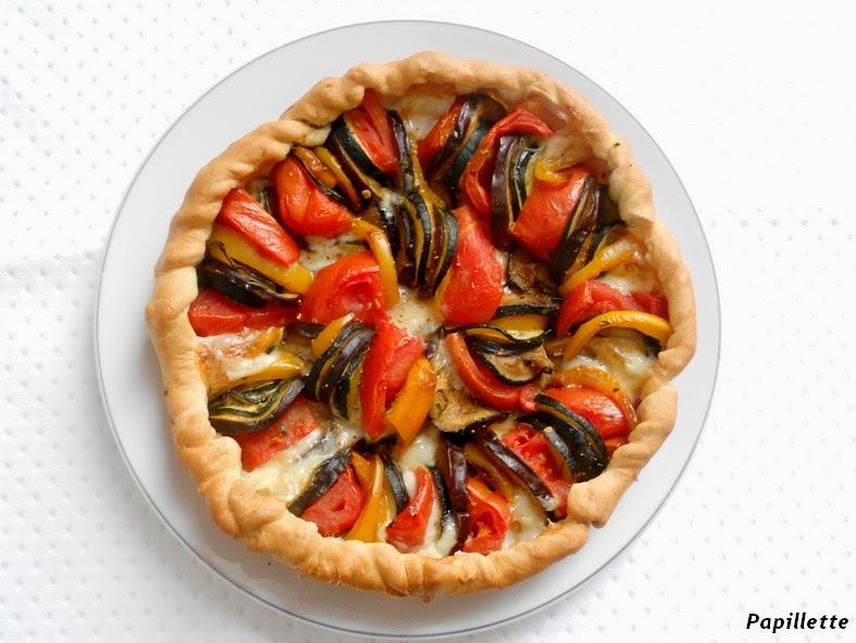 tarte tian au fromage basque