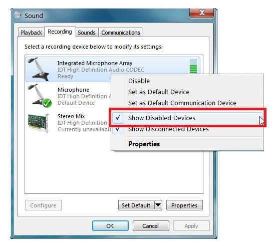 how to add a playback device in windows 10