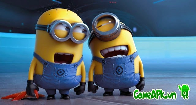 Despicable Me v2.1.0m hack full chuối cho Android