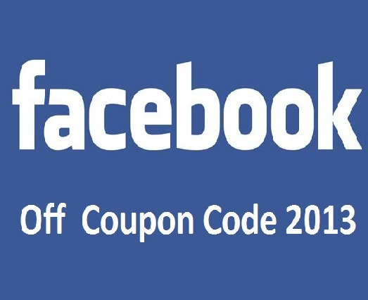 Facebook discount coupon