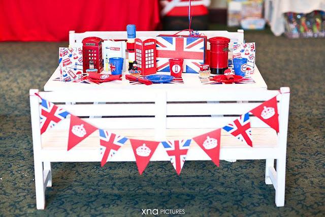 decoracao festa londres:Festa Londres
