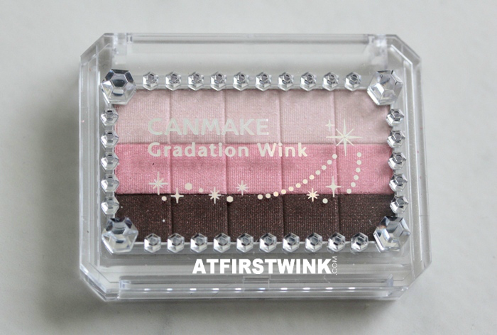 Canmake Gradation Wink eye shadow 03 - Strawberry Tart review