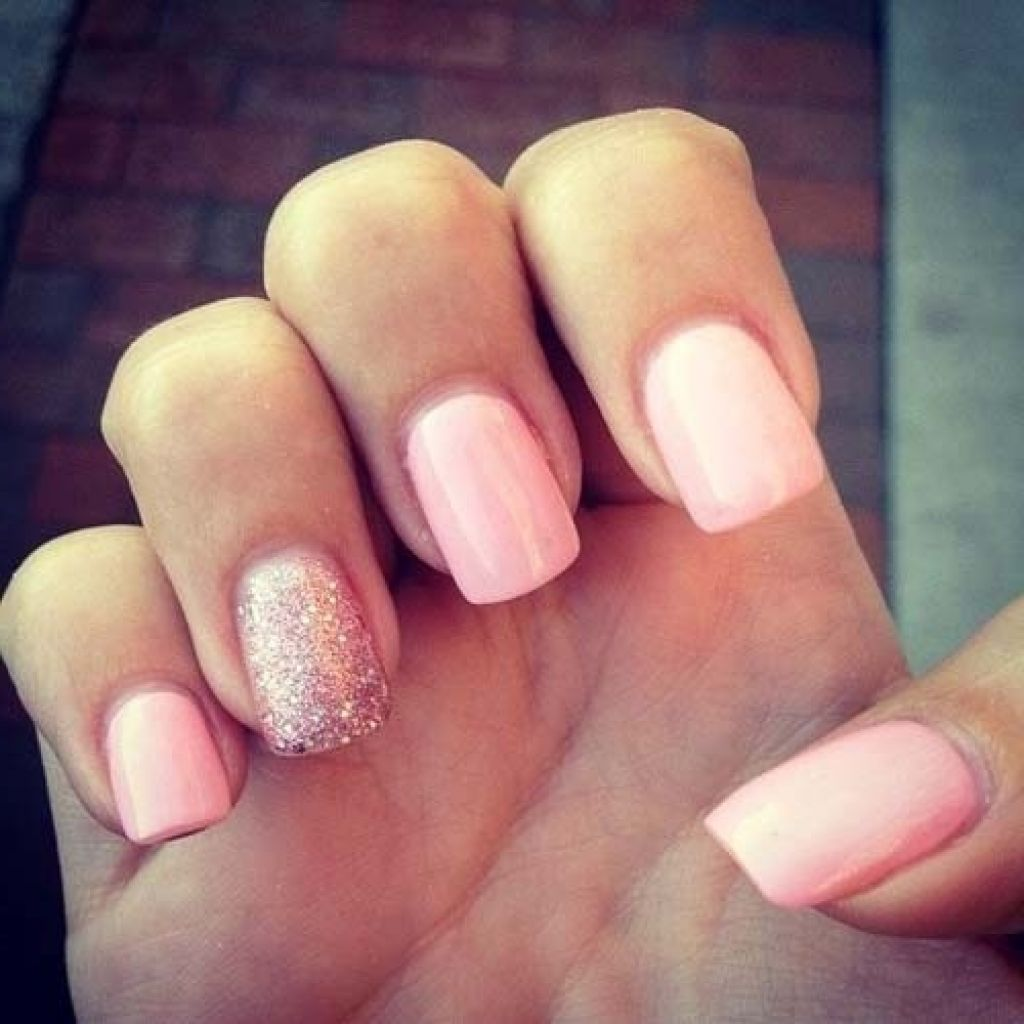 Plain Cute nails tumblr pictures
