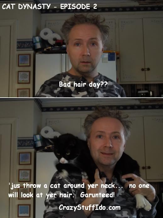 Cat Dynasty, Episode 2 - How ta Handle a Bad Hair Day