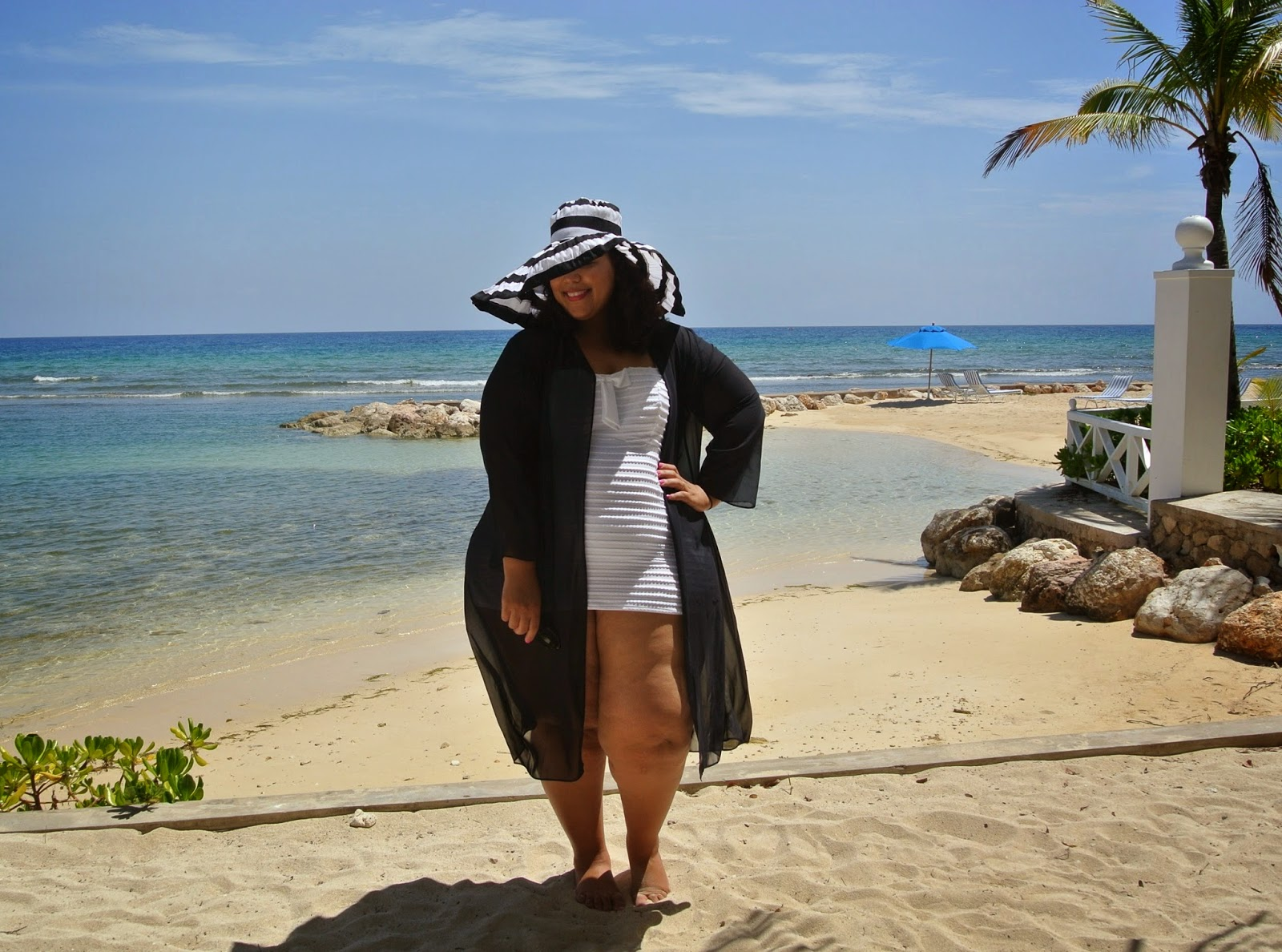plus size resortwear, halfmoon bay jamaica