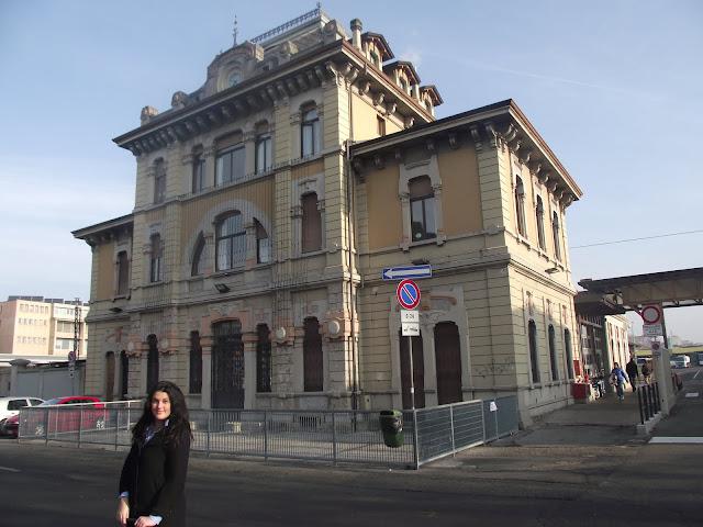 Estación de Tren Bérgamo para Milán