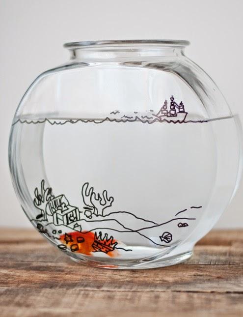 decoracao-ilustracao-aquario-peixe