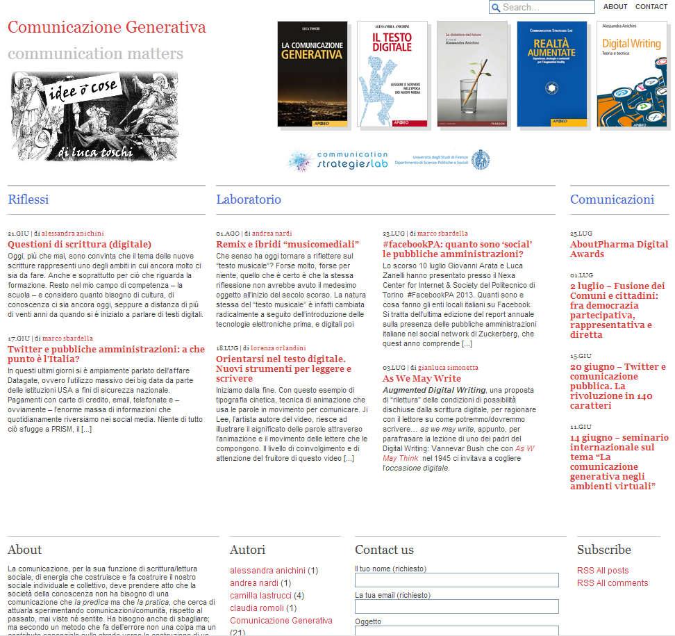 comunicazionegenerativa org