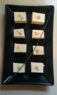 Tofu with Bonito and Ginger (Hiyayakko)