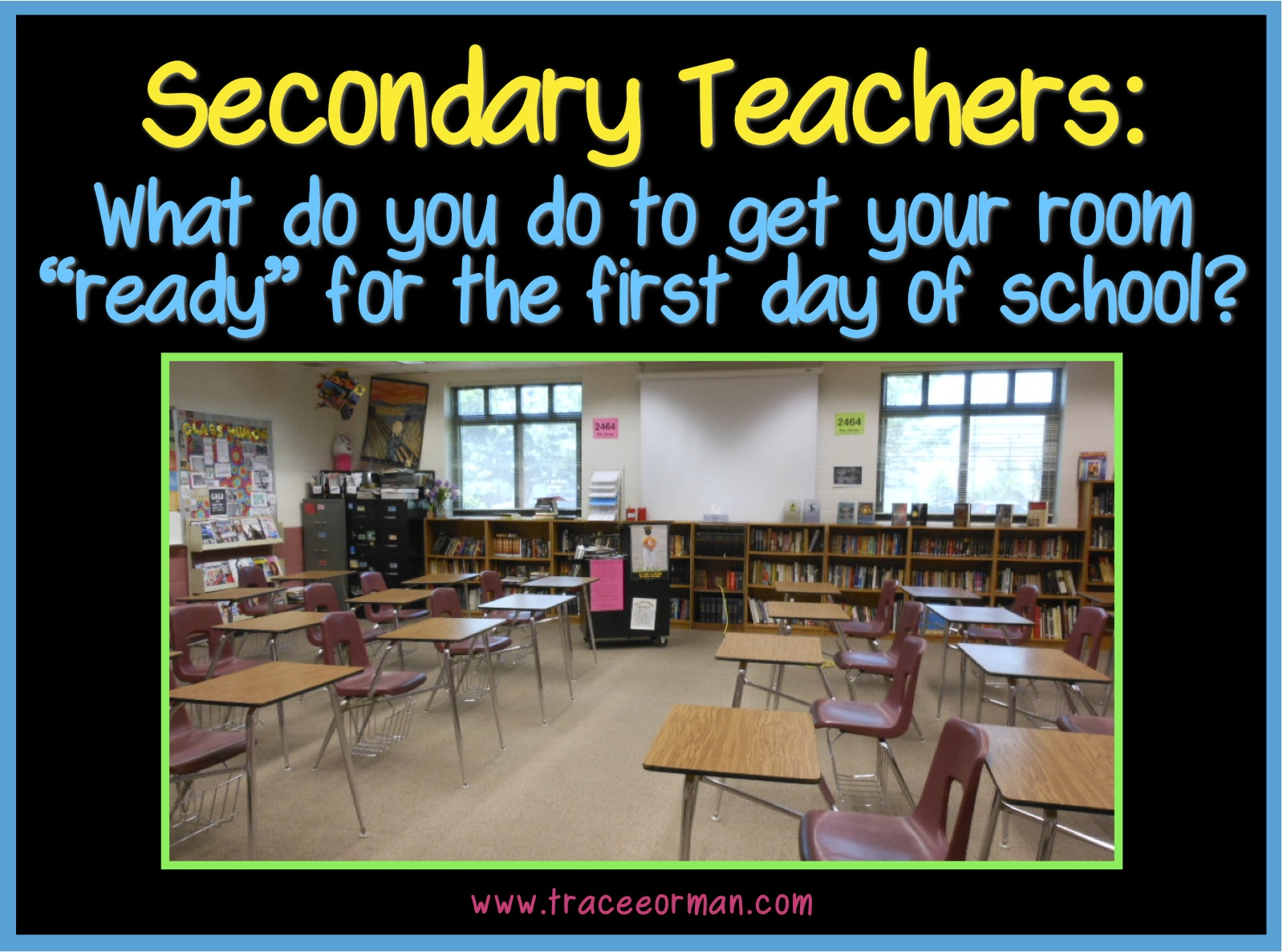 Classroom Management Ideas For High School ~ Teacher sol classroom organization tips from veteran teachers