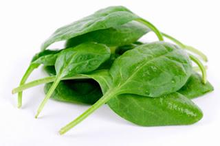 hojas de espinaca
