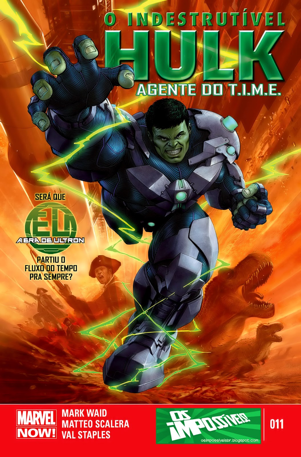 Nova Marvel! O Indestrutível Hulk - Agente do T.I.M.E #11
