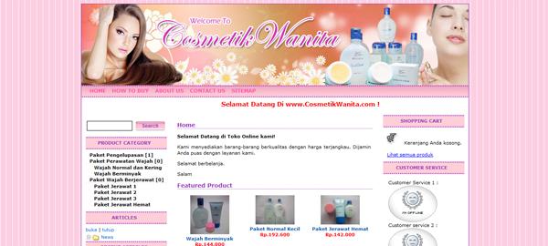 Cosmetikwanita.com Toko Produk Kecantikan Terpercaya