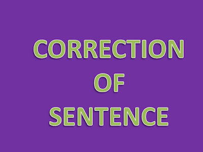 IBPS CWE CLERK :: CORRECTION OF SENTENCE POST-4