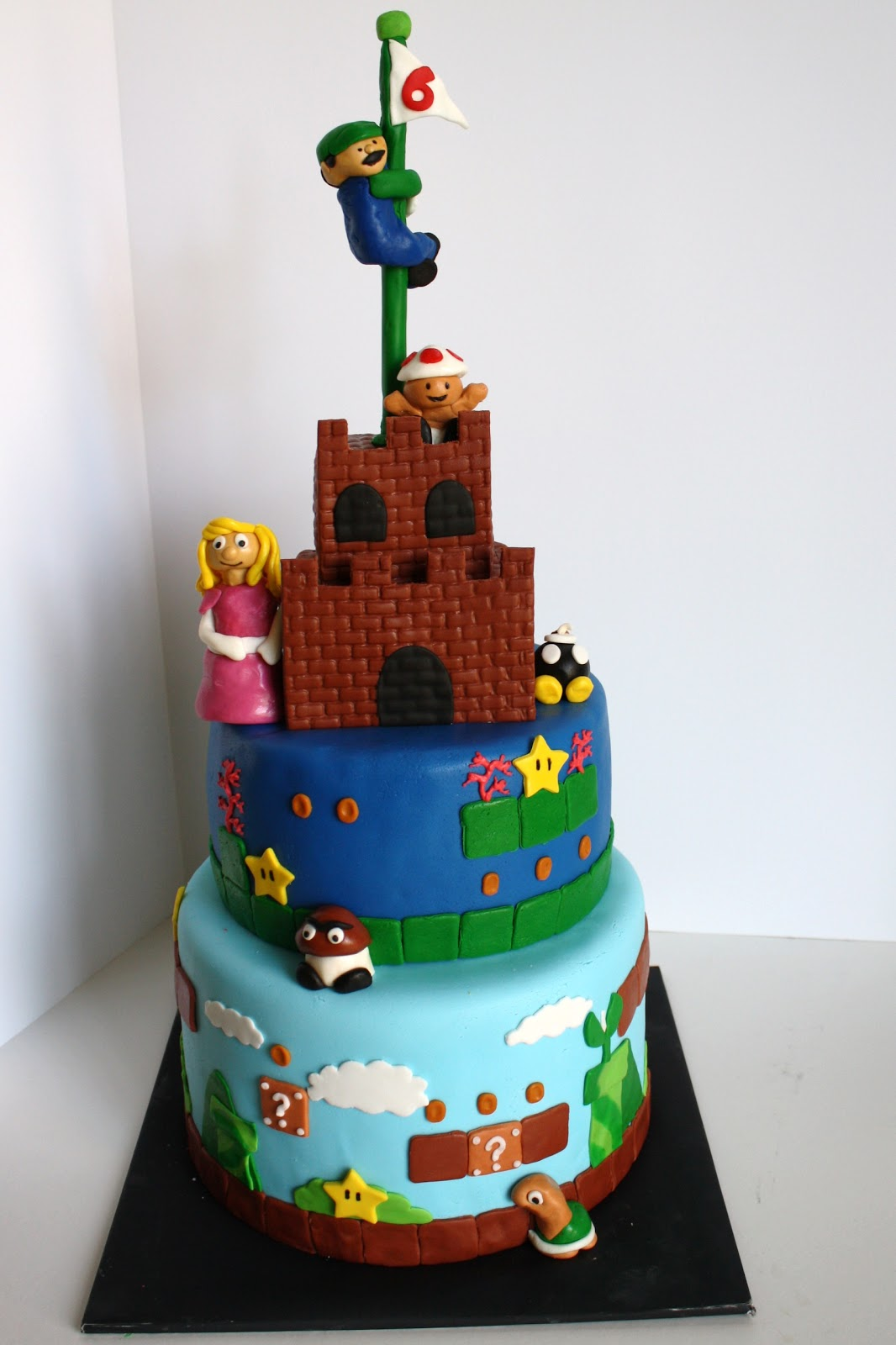 Birthday Cake Images In : SAB Cakes!: Mario Birthday Cake
