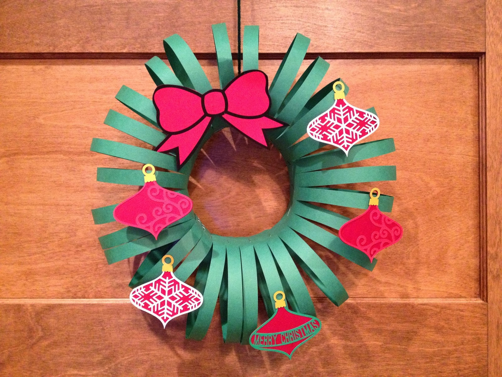 Christmas decorations using construction paper - Christmas Decorations Using Construction Paper 22