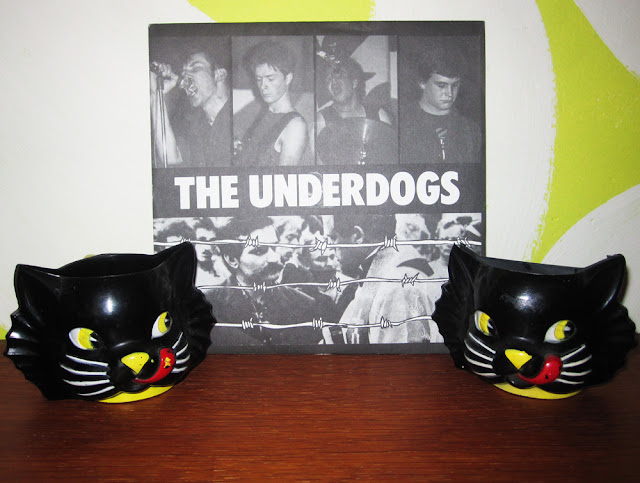The Underdogs - East of Dachau - 1983 Riot city records punk