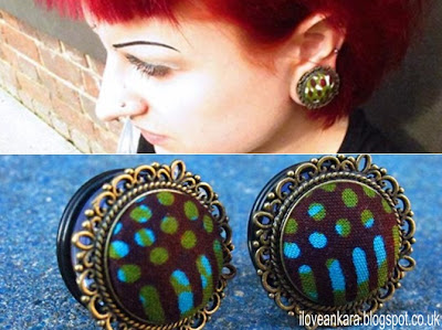 Manaka Handmade ear plugs for stretched ears- iloveankara.blogspot.co.uk