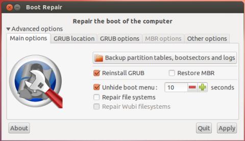 Resultado de imagen de boot repair