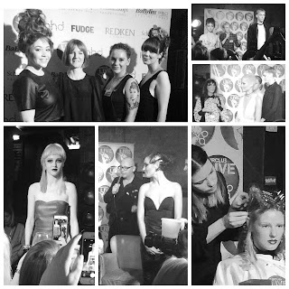 hair club live open chair event in Edinburgh showcasing great looks with models