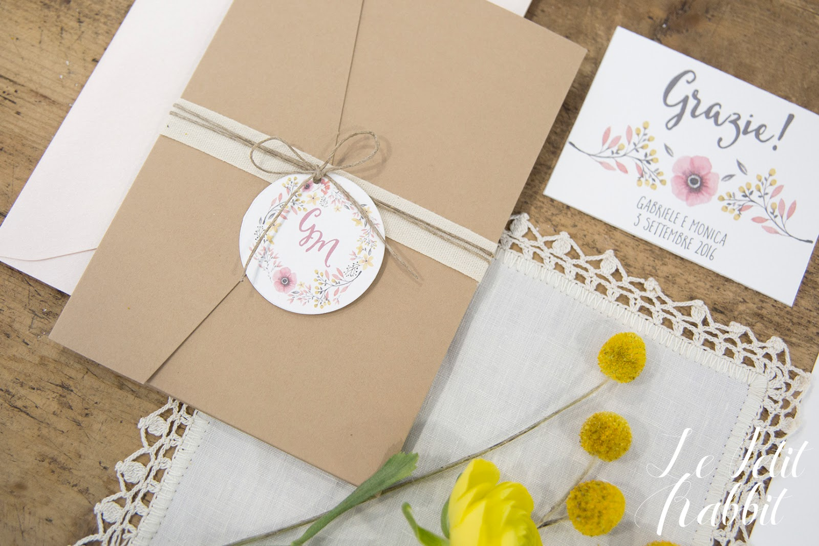 Menu Matrimonio Rustico : Watercolor flowers wedding suite le petit rabbit