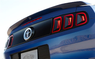 2013 Ford Mustang taillight