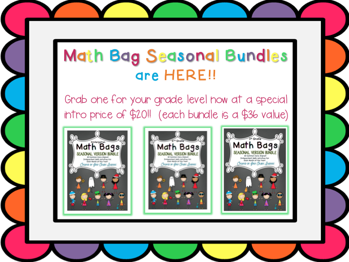 http://www.teacherspayteachers.com/Store/First-Grade-Buddies/Search:Math+Bags+Bundle/Search:Math%20Bags%20Seasonal%20Bundle