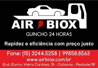 Airbiox  - Remoção e transporte de veículos