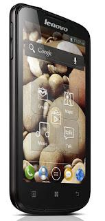 Lenovo A800 HP Android ICS layar 4.5 inch harga dibawah 2 juta