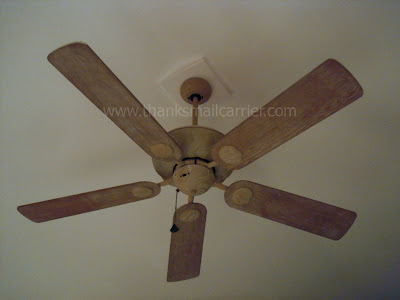 outdated ceiling fan