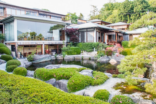 Travel sekitei luxurious onsen ryokan near for Qut garden pool