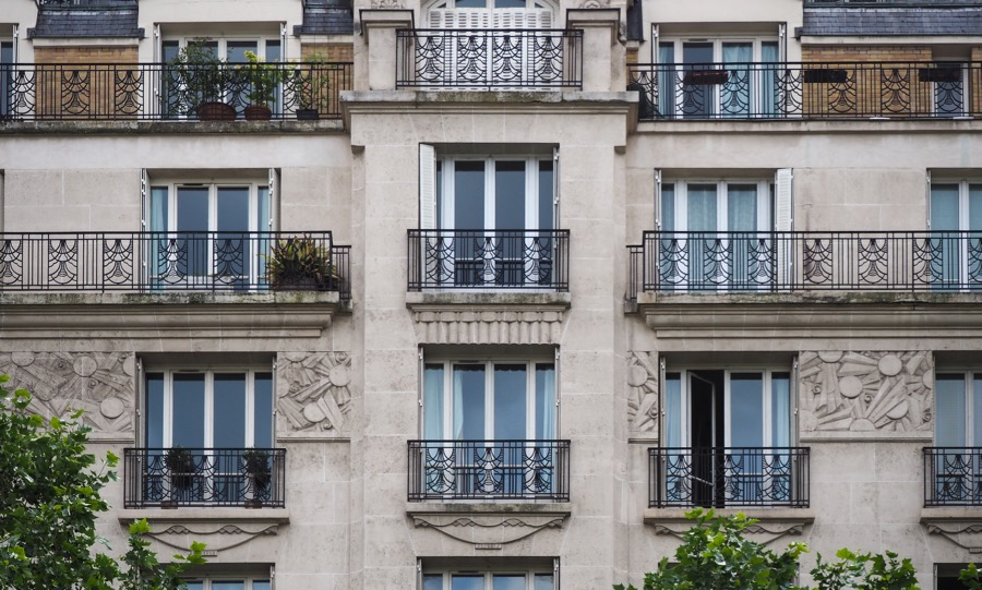 France french art deco architecture of the th arrondissement in