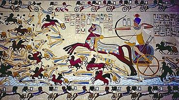 Los Hicsos introdujeron los carruajes tirados por caballos
