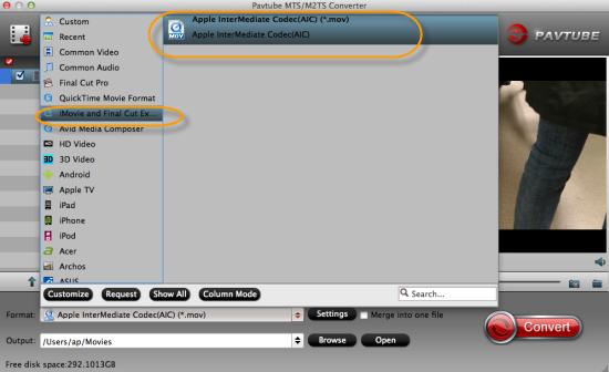 Transcode HC-X920 AVCHD to AIC