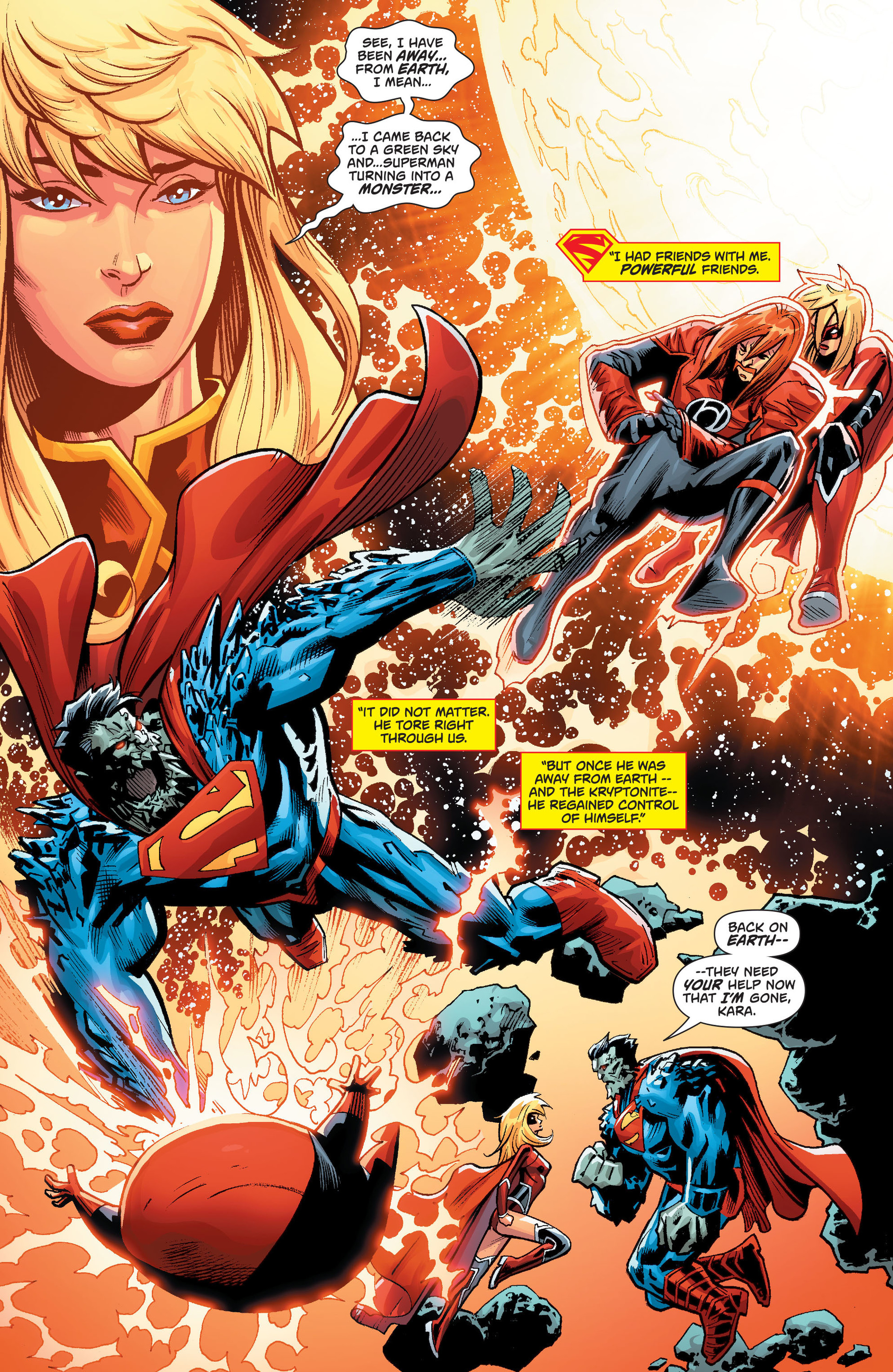 Supergirl (2011) Issue #34 #36 - English 6