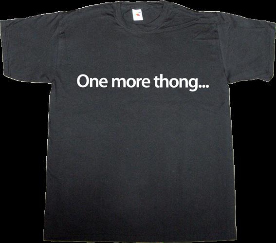 steve jobs apple keynote fun adult entertainment thong t-shirt ephemeral-t-shirts