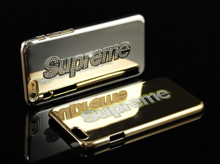 supreme incase bling logo iphone 6 case available. Black Bedroom Furniture Sets. Home Design Ideas