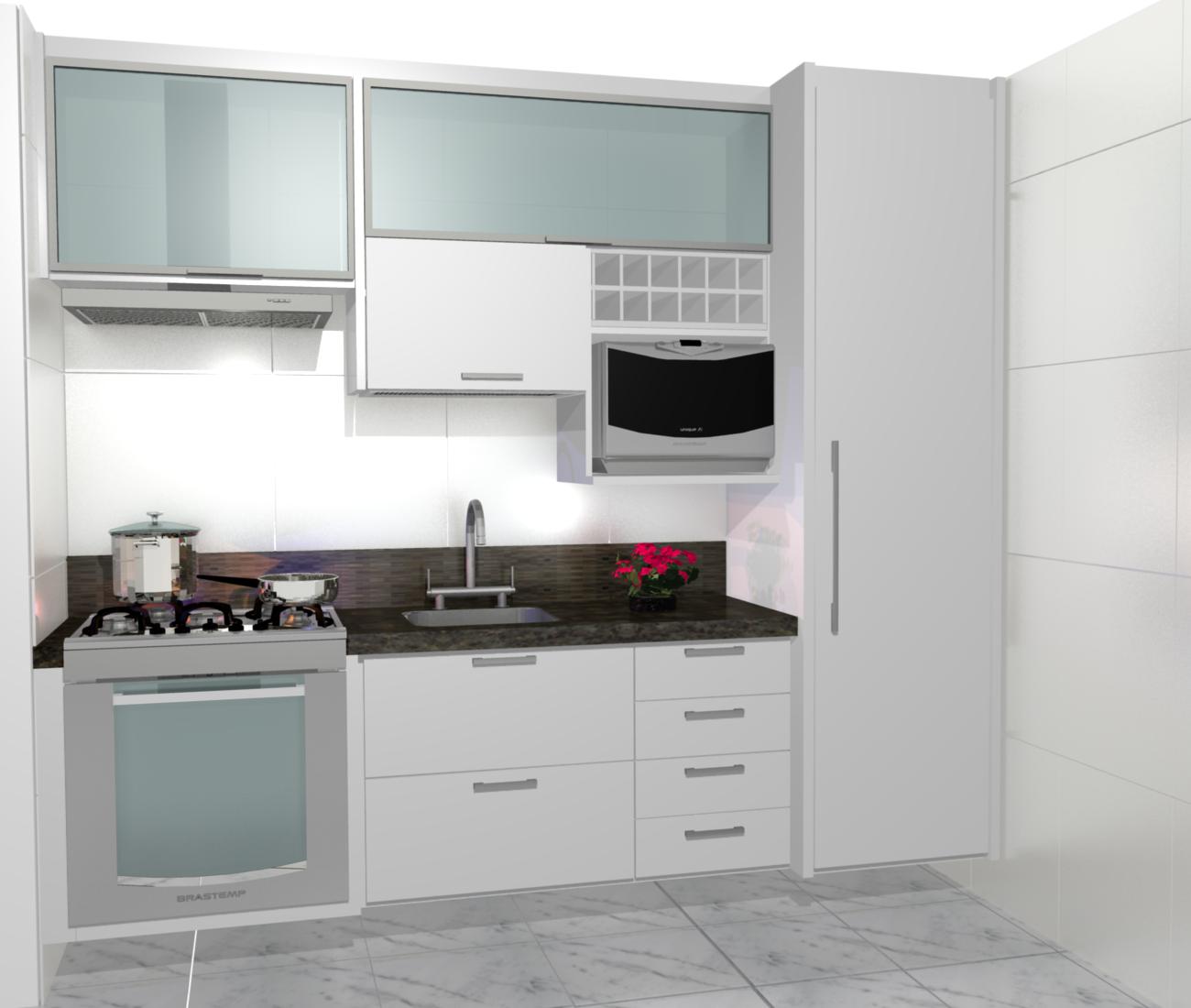 PROJETOS (11) 3976 8616: cozinha planejadas pequenas decorada #644042 1300 1100