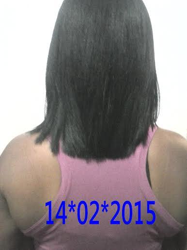 cabelos no dia do corte
