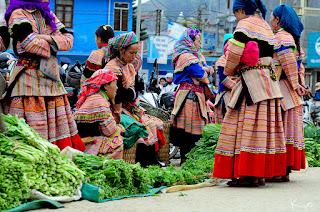 Bac Ha market vegetable
