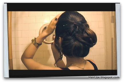 Wedding Hairstyles - how to Chignon Bun Updo Hairstyles