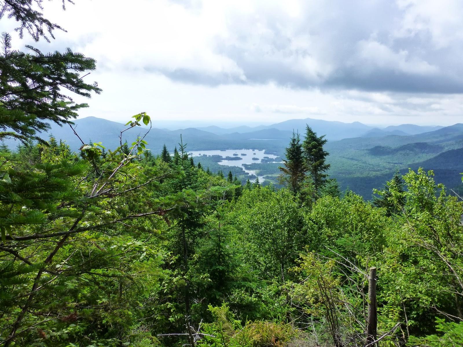 Elk Lake Adirondacks Elk Lake From The 2nd Bump