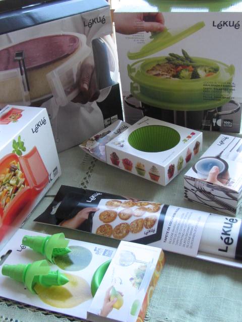 una cucina coloratissima con lekuè!!