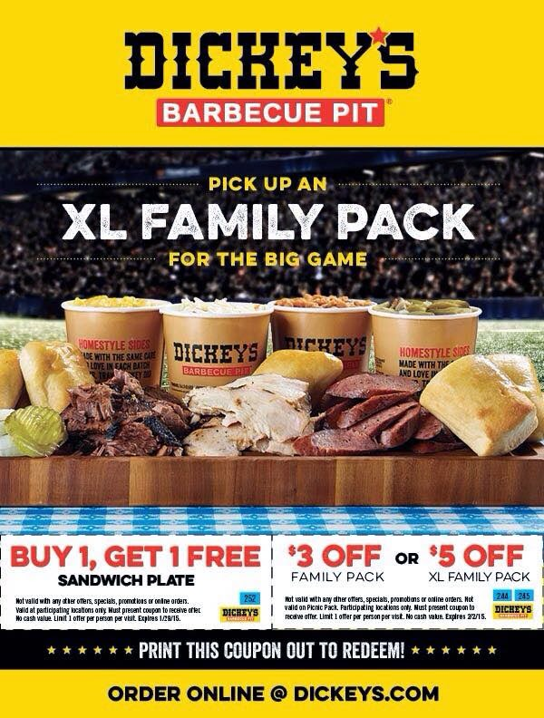 Dickey's Barbecue Pit, the nation's largest barbecue chain was founded in by Travis Dickey. Today, all meats are still slow smoked on-site in each restaurant.